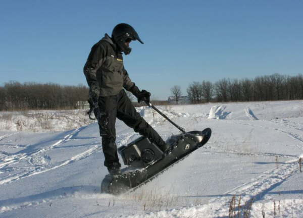 Electric Snowmobile Motorcycle Gasoline Snow Scooter
