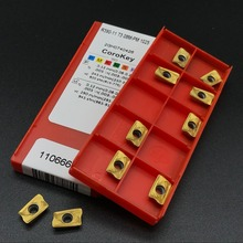 ФОТО 10pcs  new r390 11 t308m pm 1025 metal turning tool carbide insert milling tool cnc lathe tool