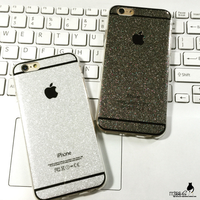 best value 033cd fb2b4 US $2.21 |For iPhone 6 Case Luxury Glitter Bling Crystal Diamond Silica gel  Wallet Case For Apple iPhone 6 4.7 inch With Card Slots Cover on ...
