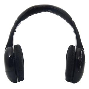 Image 2 - 5 in 1 무선 헤드폰 mp3 pc tv 용 고품질 사운드 무선 헤드폰 남성과 여성을위한 블랙 휴대용 지원 도매
