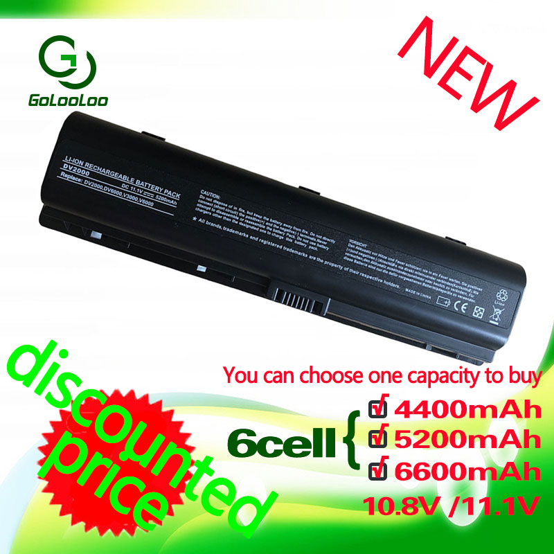 Golooloo 6 CELLS laptop Battery FOR HP HSTNN W34C HSTNN W20C HSTNN C17C HSTNN IB42 462337 001