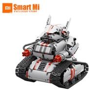 New Mitu Robot Tank Mecha Crawler Base Xiaomi Mitu Building Block Robot Crawler Tank Version Controll By Smartphone Mihome