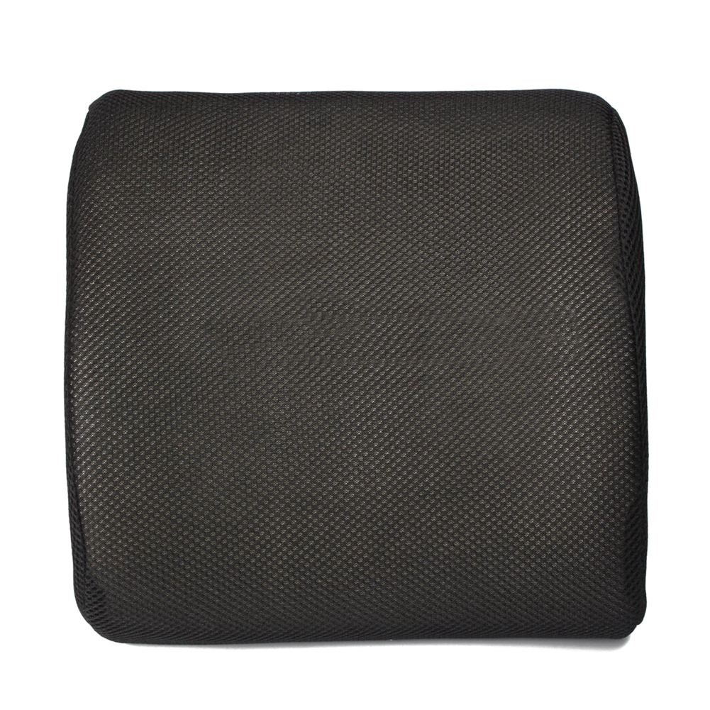 Lumbar Back Support Cushion Pillow Memory Foam Waist Office Home Chair Car Seat