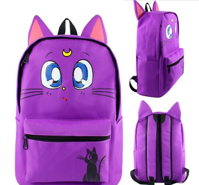 Сейлор Мун время приключений Юр на льду аниме мультфильм школьников сумка #1204 детей рюкзак дорожная сумка для подростков для мальчиков и де...