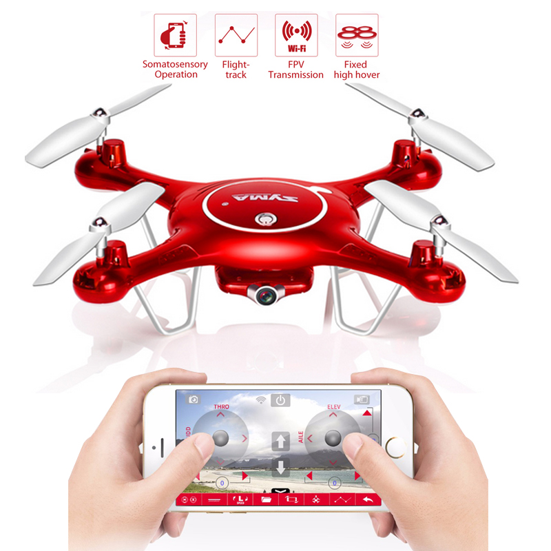 все цены на  2.4G 4CH 6Axis RC Quadcopte with Wifi camera HD SYMA X5UW x5UC RC Drone 720P WIFI FPV Camera Helicopter Height Hold One Key Land  онлайн