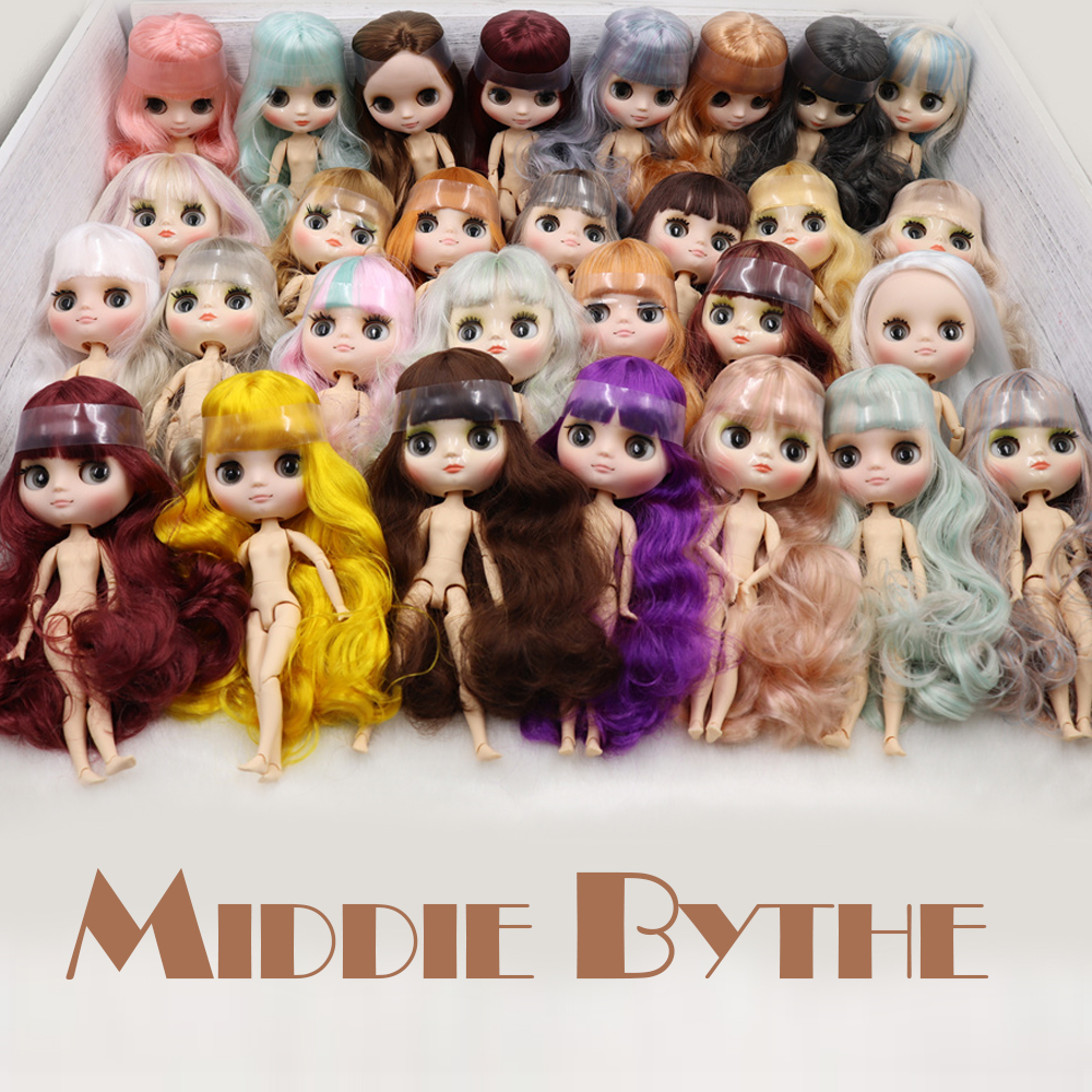 ICY Nude Factory Middie Blyth doll No 9 20cm 1 8 joint body doll Hand gesture
