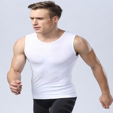 Top Selling For Men's Compression Base Layer Fitness Gym Yoga Tight Shirt Vest Sport Tops M L XL