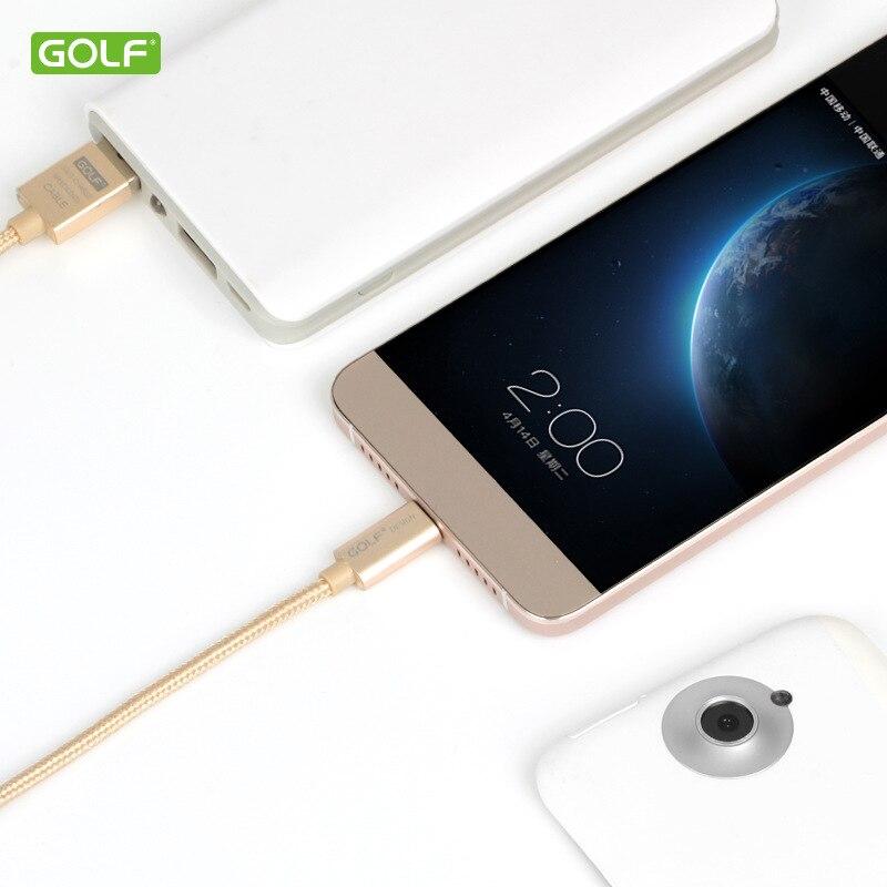 GOLF USB Tipe-C Kabel Sync Data Biaya Untuk Huawei P20 Honor 8 9 10 - Aksesori dan suku cadang ponsel - Foto 3