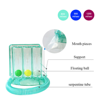 High quality Breathing Training Device Three Balls Instrument Lung Capacity Training With Mouth Blown Lung Function Exercise