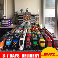 Dhl Lepin Technic Ultimate And City Series Train 02008 02009 02010 02039 21005 21006 21007 Buillding