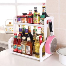 Superposition Shelf Multilayer 1Pcs Snap Type Plastic Storage Racks Kitchen Shelving Holders Multiuse Organizer