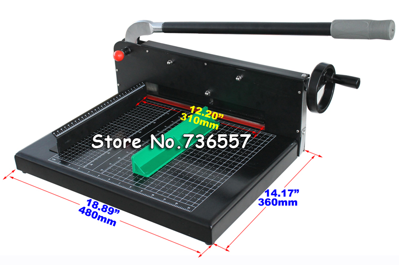 New Heavy Duty All Metal Ream Guillotine A4 Size Stack Paper Cutter White Black Paper Cutting Machine 320mm a4 size paper cutter heavy duty all metal ream guillotine paper cutting machine trimmer cutter paper trimmer