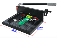 New Heavy Duty All Metal Ream Guillotine A4 Size Stack Paper Cutter White Black Paper Cutting
