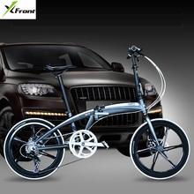 Новый бренд 20/22 дюймов рама из алюминиевого сплава 7 скоростей дисковый тормоз складной велосипед Открытый BMX bicicletas детский женский велосипед