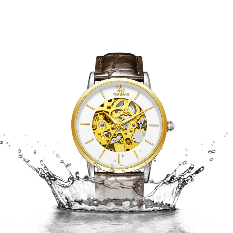 Popular New Top Mechanical Hollow Men Watch brand Hot Style Fashion Man Wristwatch Stainless steel Leather Creative Clock  Popular New Top Mechanical Hollow Men Watch brand Hot Style Fashion Man Wristwatch Stainless steel Leather Creative Clock