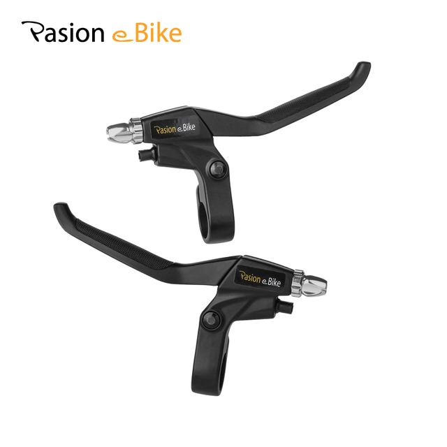 PASION E Электрический велосипед тормозной Мощность вырезать для велосипеда Электрический велосипеды Запчасти черный Алюминий сплав отрезать Мощность тормоз