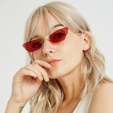 6b92bbada7 QPeClou Small Frameless Modern Sunglasses Women Unique Square Sun Glasses  Female Rimless Colorful lens Eyeglasses Men Oculos