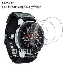 3 Stks/partij 9H Premium Explosieveilige Gehard Glas Voor Samsung Galaxy Horloge 46Mm & 42 Mm 2018 versie Screen Protector Film