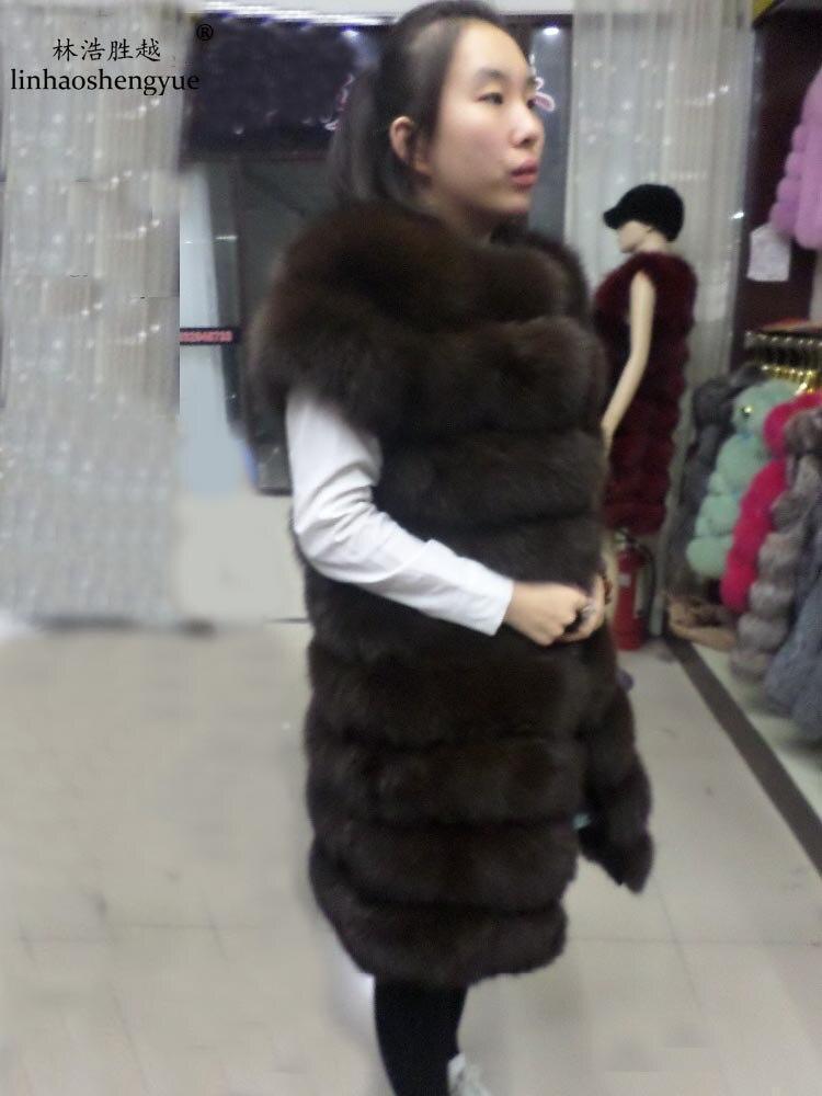 Linhaoshengyue 90 սմ մեծ ուսի երկարությունը - Կանացի հագուստ - Լուսանկար 4
