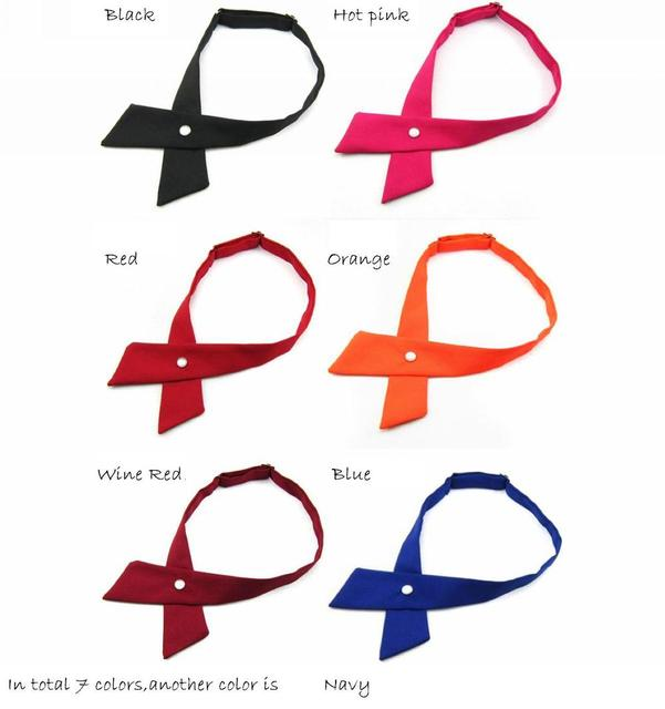 7306fa5958c6 crossover solid butterflies butterfly bowknot bow tie knot bowtie men's  necktie women's neck ties polyester ascot