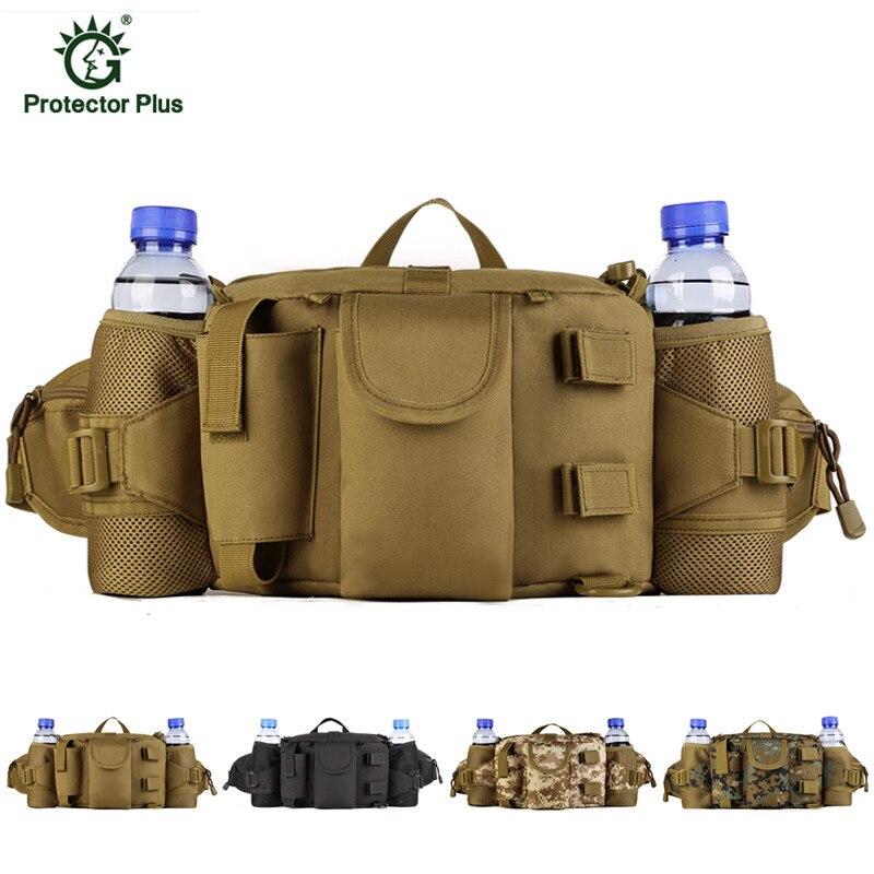 Military Tactics Waist Pack Bag Waterproof Molle Waist Bag Fanny Pack Bum Bag Military Equipment E57