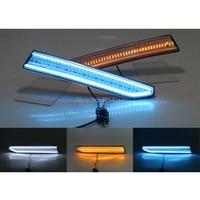 smRKE Car Light Fog Lights Daytime Running Lights LED Light Bar For Volkswagen Santana