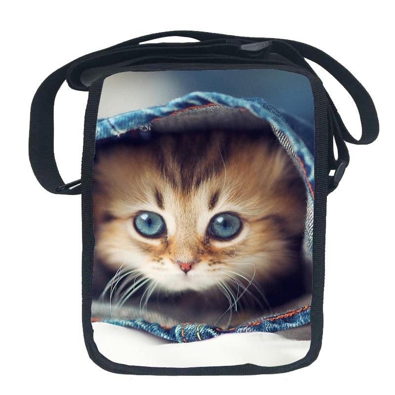 New Designed Spring Kids Animal Shoulder Bag Cat Sling