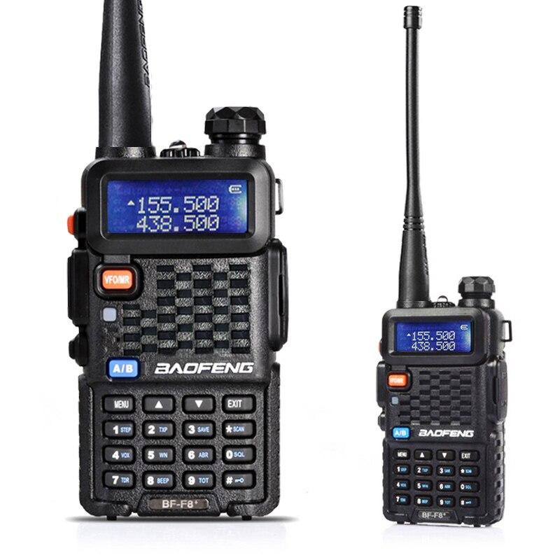 imágenes para Walkie talkie Baofeng BF-F8 Plus banda dual de doble pantalla de doble banda VHF136-174MHz y 520mhz-uhf400 radio de dos vías