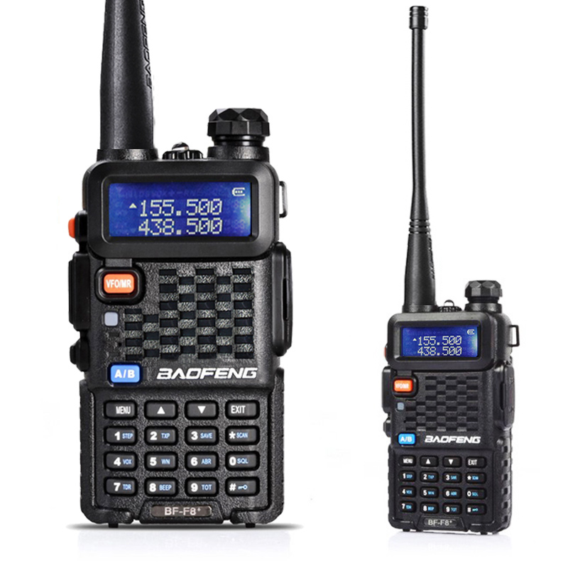 Baofeng BF-F8HP Two Way Radio Walkie Talkie Dual Band VHF UHF Portable Radio F8