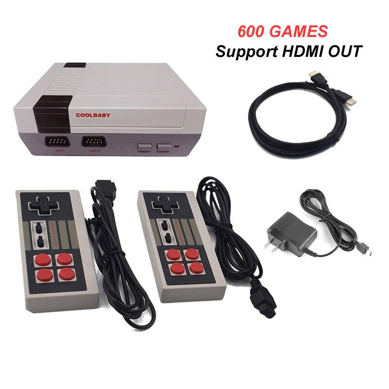 Gutherzig 10 Stücke Hdmi Hd Out Mini Tv Retro Klassische Handhel Spielkonsole Videospiel Konsole Mit 500/600 Verschiedene Eingebaute Spiele P/n Videospiele