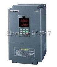 Sunfar инвертор 5.5kw AC380V E380 Серии преобразователь частоты E380-4T0055G для чпу шпинделя маршрутизатор двигателя