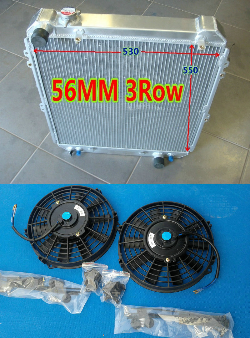 Shroud /& Fan for TOYOTA HILUX SURF KZN130 1KZ-TE AT//MT 1993 1994 1995 1996