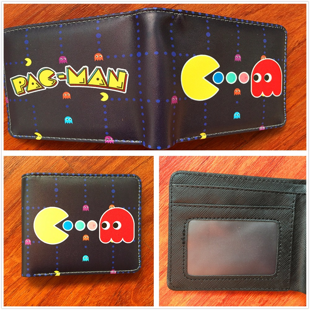 New Arrive Cartoon pac man wallet with Card Holder Bag For child Gift W510 лонгслив printio 2 pac
