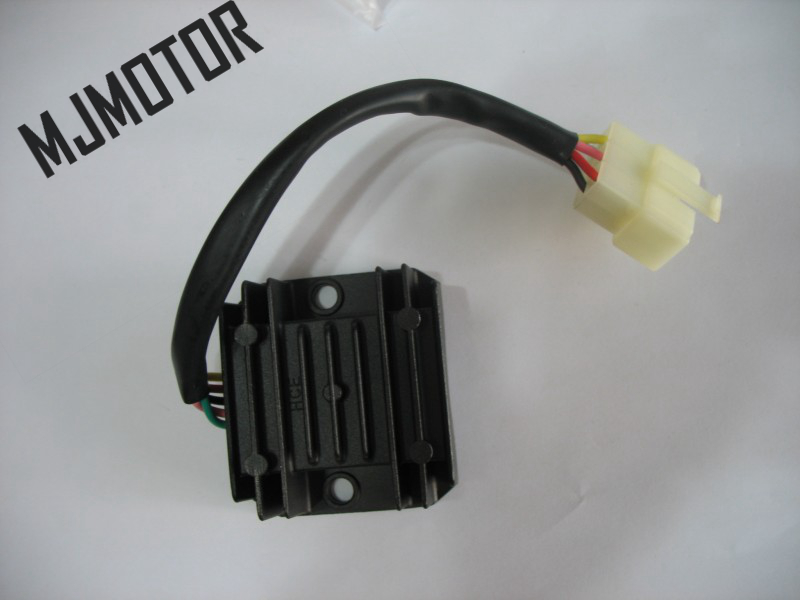 5 Pin DC Voltage Regulator Rectifier For GY6 125 Chinese Scooter stroke GY6 ATV Dirt bike Moped Motorcycle Part