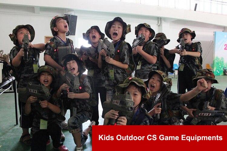 Черный детский тактический жилет для игр и школа Скаутинг жилет ripstop Косплэй детский жилет