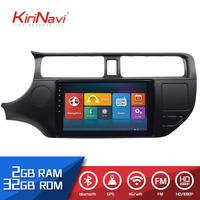 Kirinavi 9 inch android 8.1 2din car dvd player For KIA rio K3 2012 2016 with audio radio multimedia gps navigation