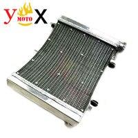 Мотоциклетные плотное изменение Алюминий резервуар охлаждающей воды радиатор охлаждения двигателя для Honda NSR250 NSR250R P3 PGM3 MC21 90 98