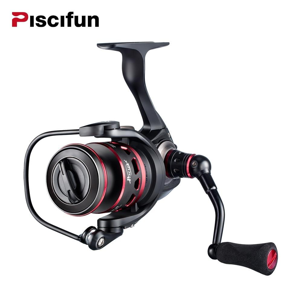Piscifun Honor Spinning Reel 10+1 BB  2000 3000 4000 5000 10KG Max Drag Sealed Carbon Fiber Drag  Light Spin Fishing Reels