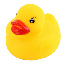Squeaky Soft Rubber Duck Toy
