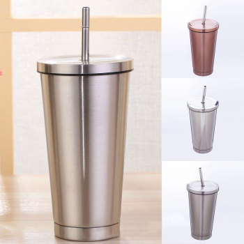 500ml Stainless Steel Tumbler In High Temperature Sterilization Suitable For Restaurant And Travel
