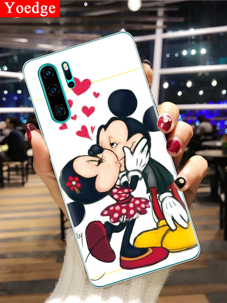 For Huawei P30 Pro Case For Huawei P30 <font><b>Lite</b></font> Silicon TPU Back Cover Cartoon Phone Case For Huawei P30Pro <font><b>P</b></font> <font><b>30</b></font> <font><b>Lite</b></font> VOG-L29 Coque image
