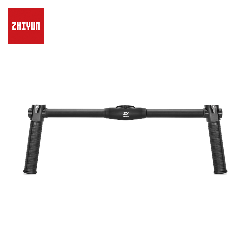 ZHIYUN Official Dual Handheld Extended Handle for Zhiyun Crane 2 Gimbal Stabilizer консилер lumene invisible illumination brightening flawless concealer цвет universal light variant hex name dfcbb7