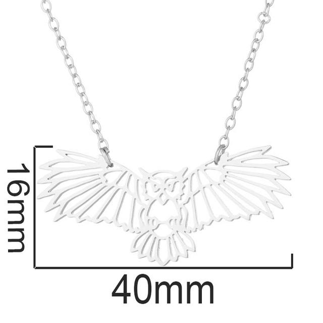 Cute Owl Pendant Necklace