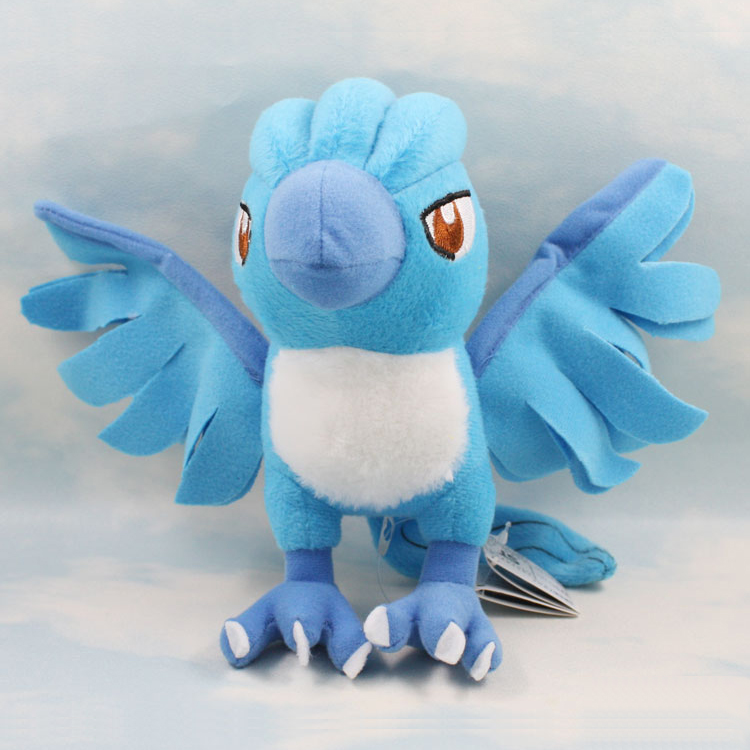 cartoon Plush Toy 7 Articuno Plush Toy cute Character Stuffed Animals kawaii Toys Doll for Kids Gift wvw cartoon stitch soft stuffed animals toy baby doll toys for girls children birthday gift mini stuffed animals cute plush toy