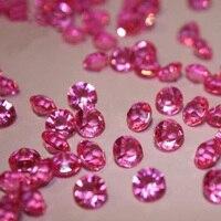 10 embalagens-10000 unidades/pacote, 4.5 MM Diamantes Cristais Scatter Da Tabela Para O Casamento Decorações Casa de Interior, Multi-cores Para Escolher