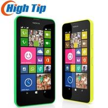 """Double sim téléphone remis à neuf d'origine nokia lumia 630 windows phone 8.1 snapdragon 400 quad core 4.5 """"écran 3G mobile téléphone"""