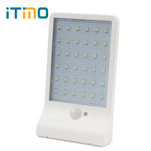 Garden Security Lamp PIR Motion Sensor Lamps Solar Power Yard Lampada 36 LED Wall Lights Street Light Waterproof Newest