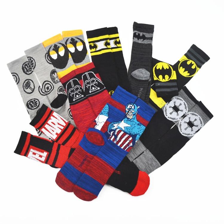 Férfi női sport zokni pókember Deadpool Star háború divat - Jelmezek