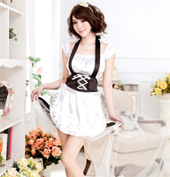 Hot sexy Pastry Lover Lingerie Maid Costume Sexy lingerie pháp maid trang phục Fancy french maid trang phục đồng phục cô hầu bàn