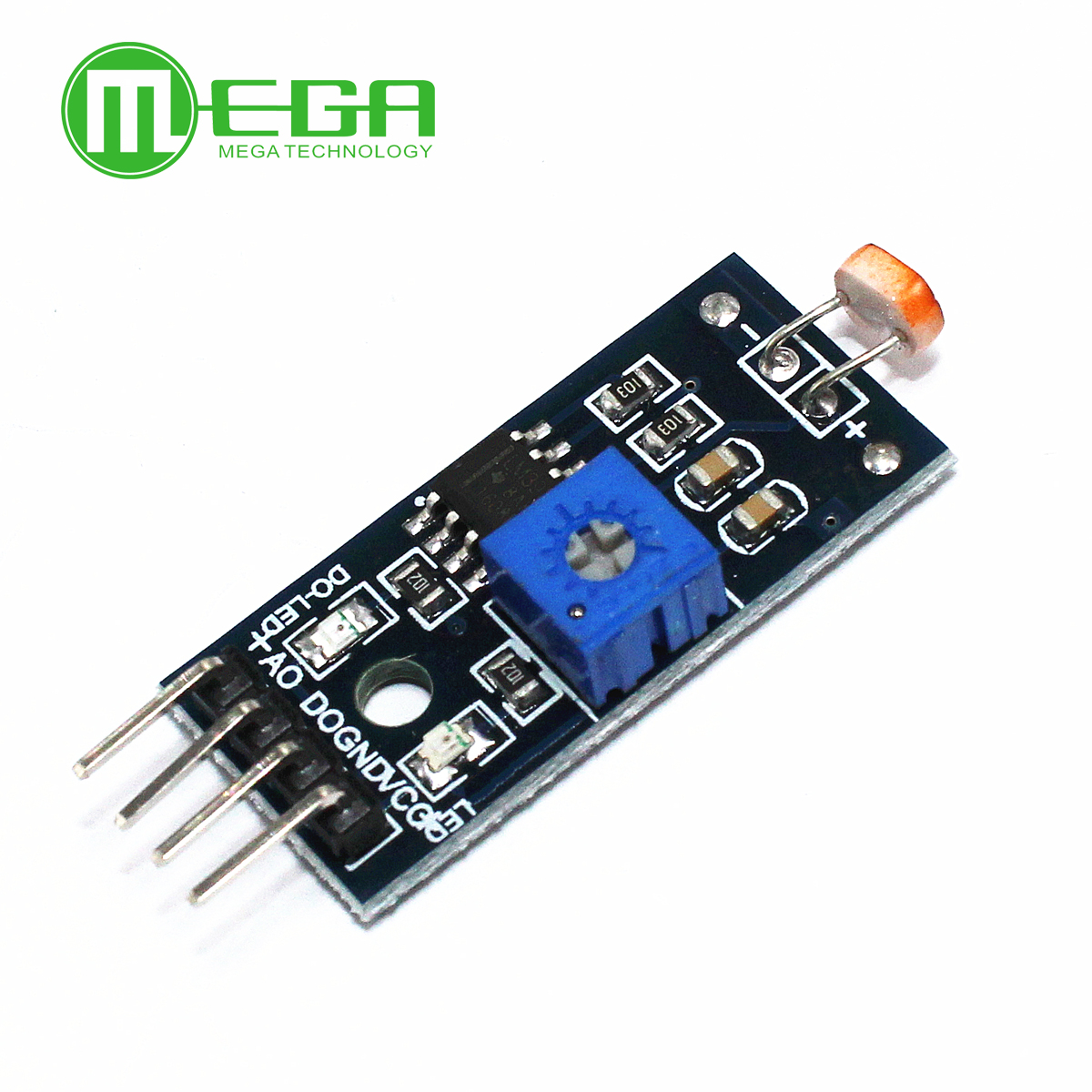 10Pcs Photosensitive Brightness Resistance Sensor Module Light Intensity Detect New